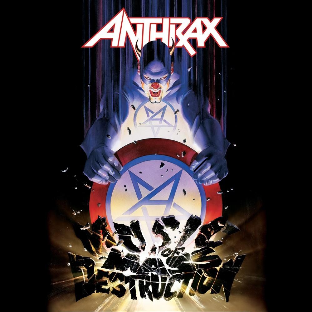 Anthrax - Music of Mass Destruction (2004) Cover