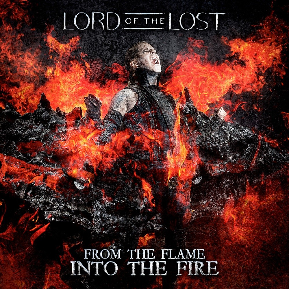 Lord of the Lost - From the Flame Into the Fire (2014) Cover