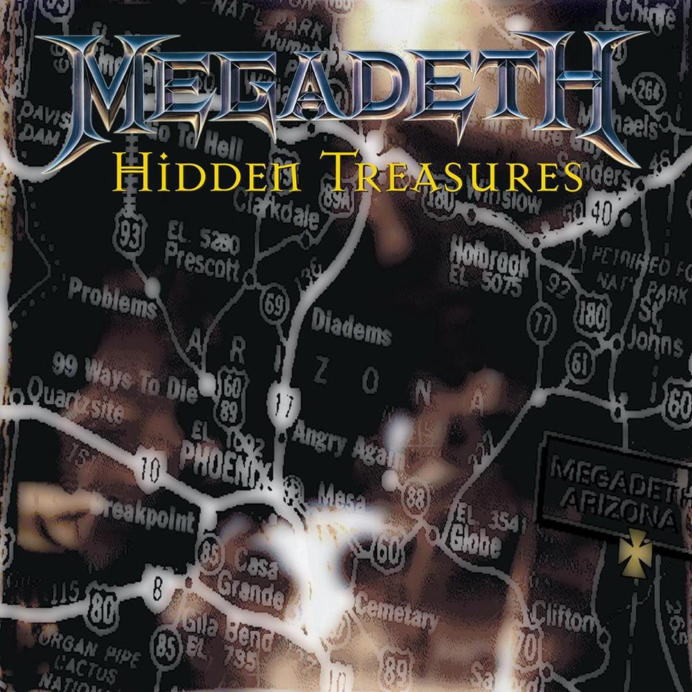 Megadeth - Hidden Treasures (1995) Cover