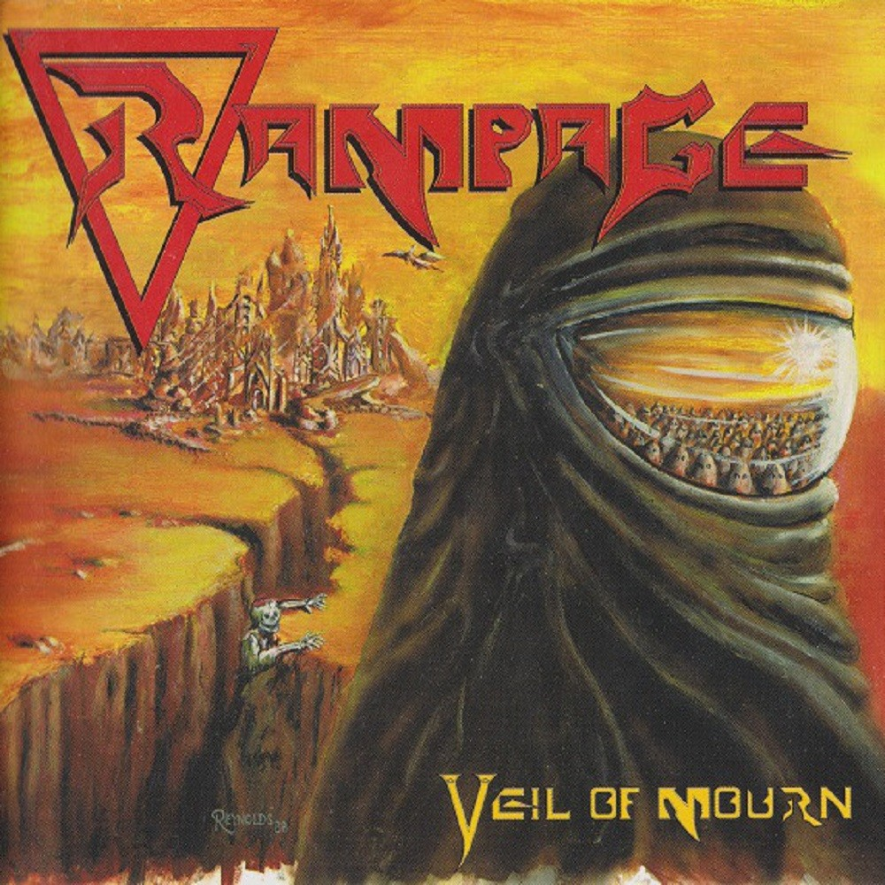 Rampage - Veil of Mourn (1988) Cover