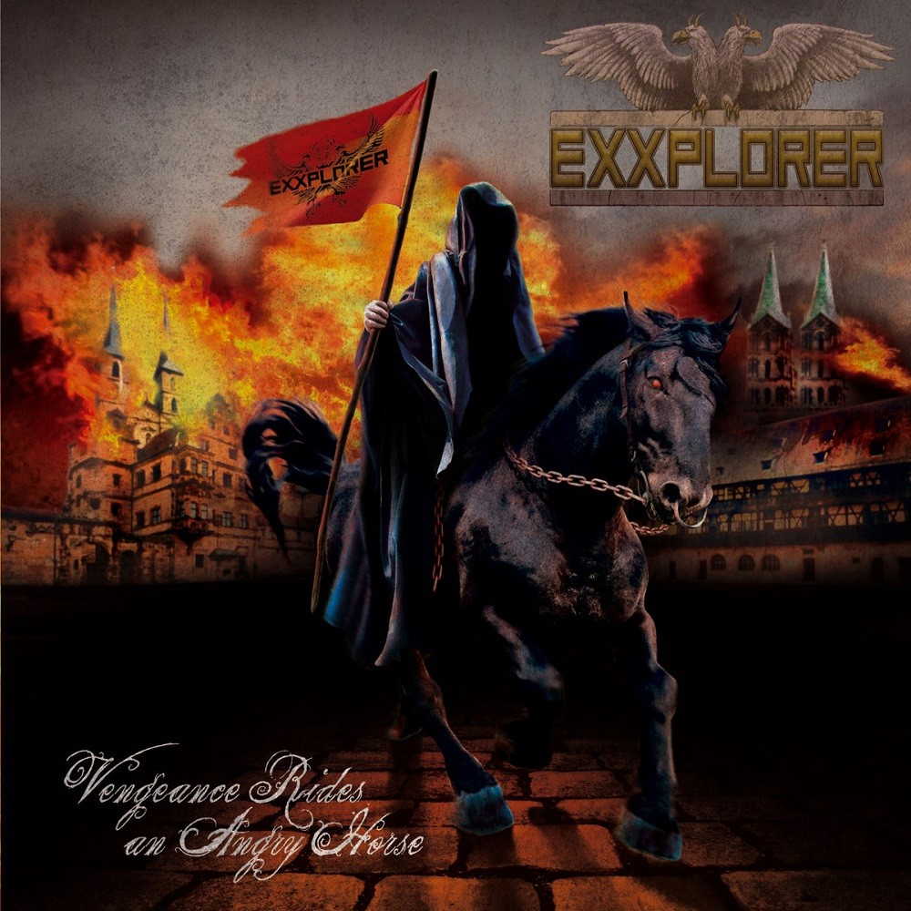Exxplorer - Vengeance Rides an Angry Horse (2011) Cover
