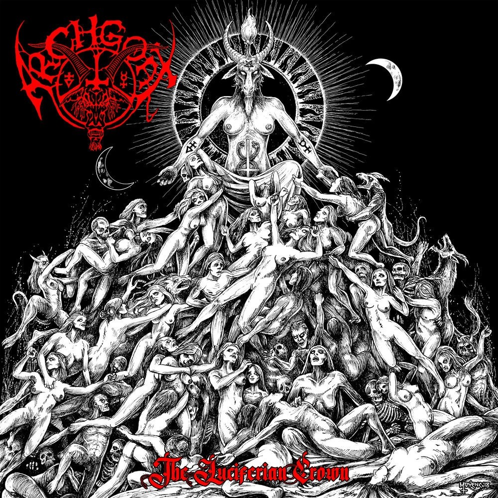 Archgoat - The Luciferian Crown (2018) Cover