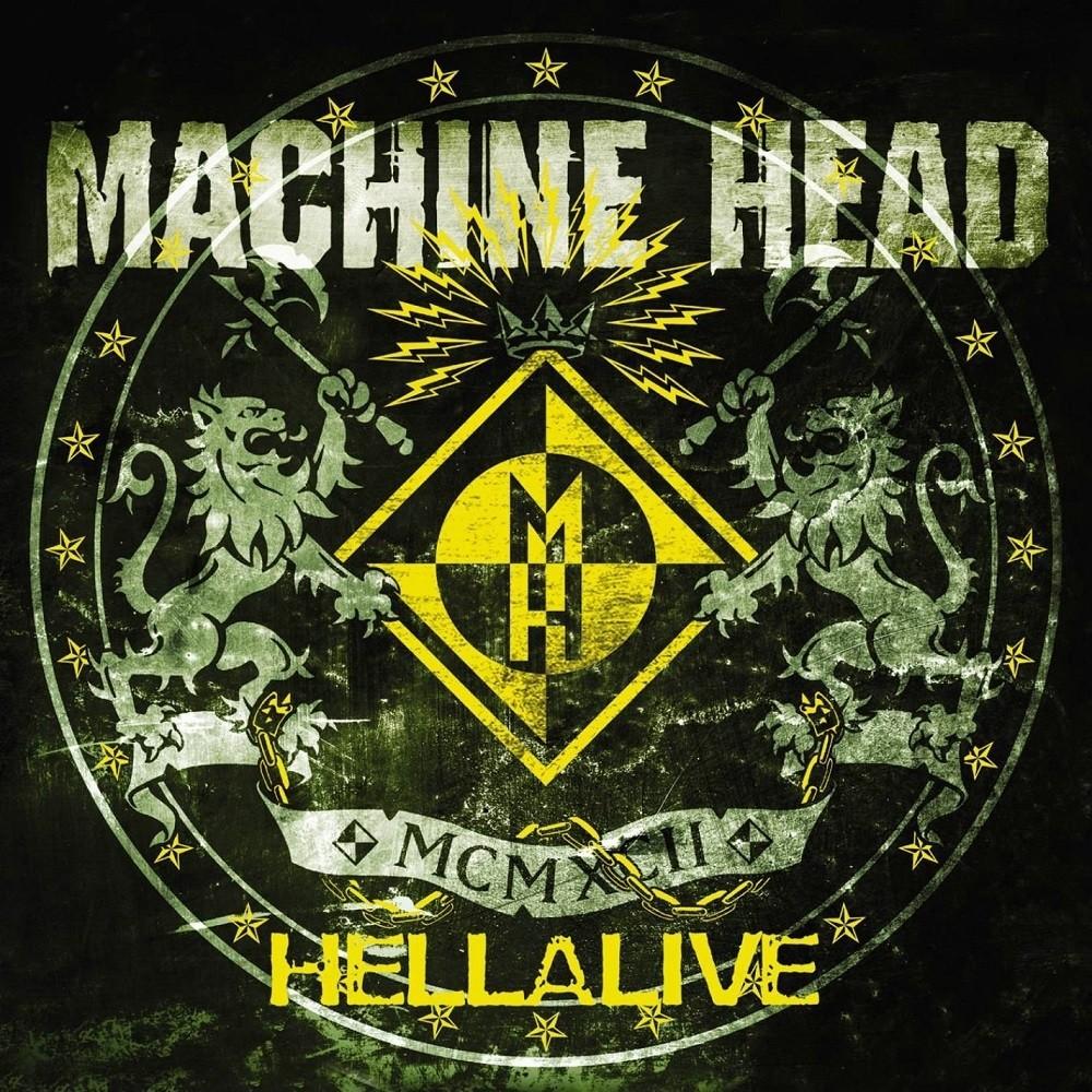 Machine Head - Hellalive (2003) Cover
