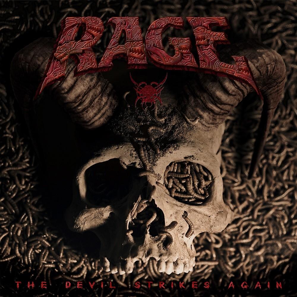 Rage - The Devil Strikes Again (2016) Cover