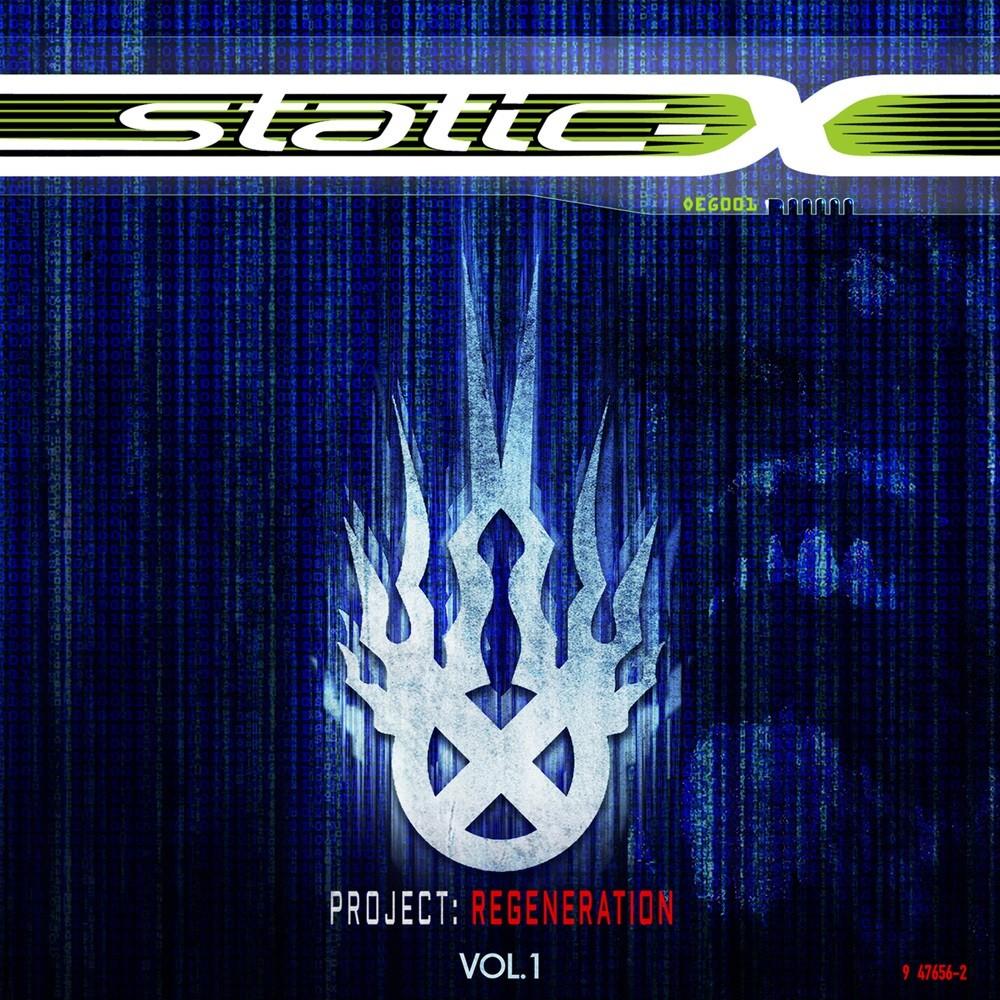 Static-X - Project: Regeneration Vol. 1 (2020) Cover