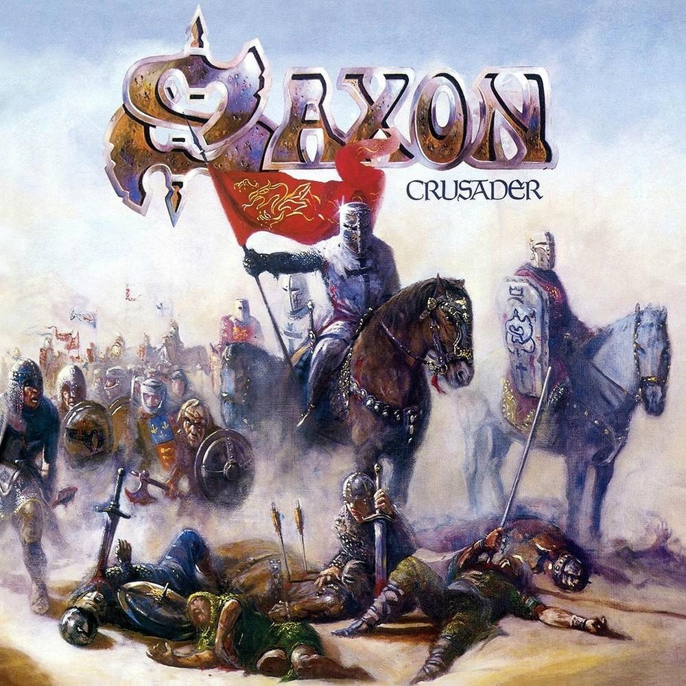 Saxon - Crusader (1984) Cover