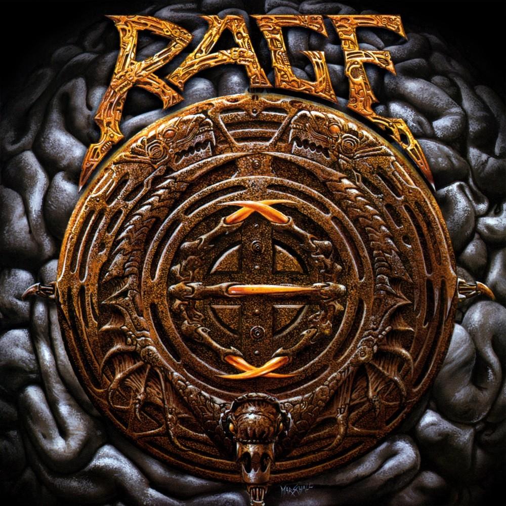 Rage - Black in Mind (1995) Cover