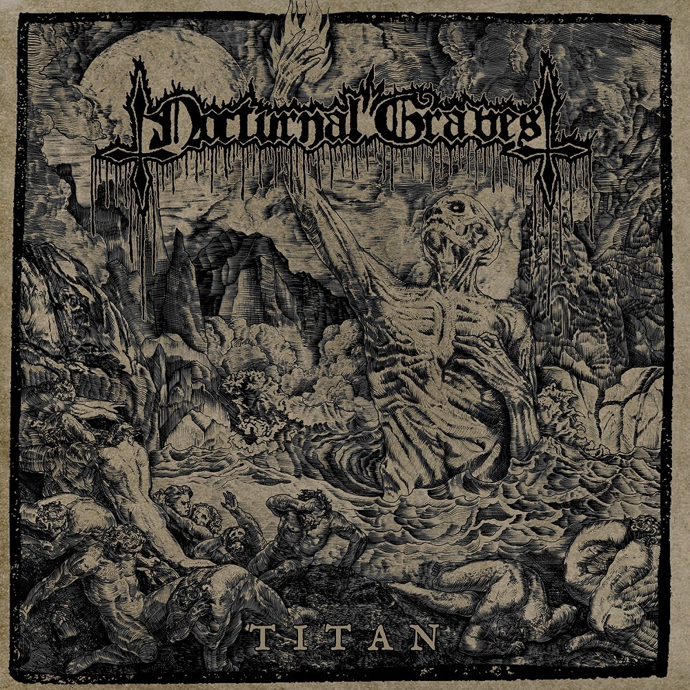 Nocturnal Graves - Titan (2018) Cover