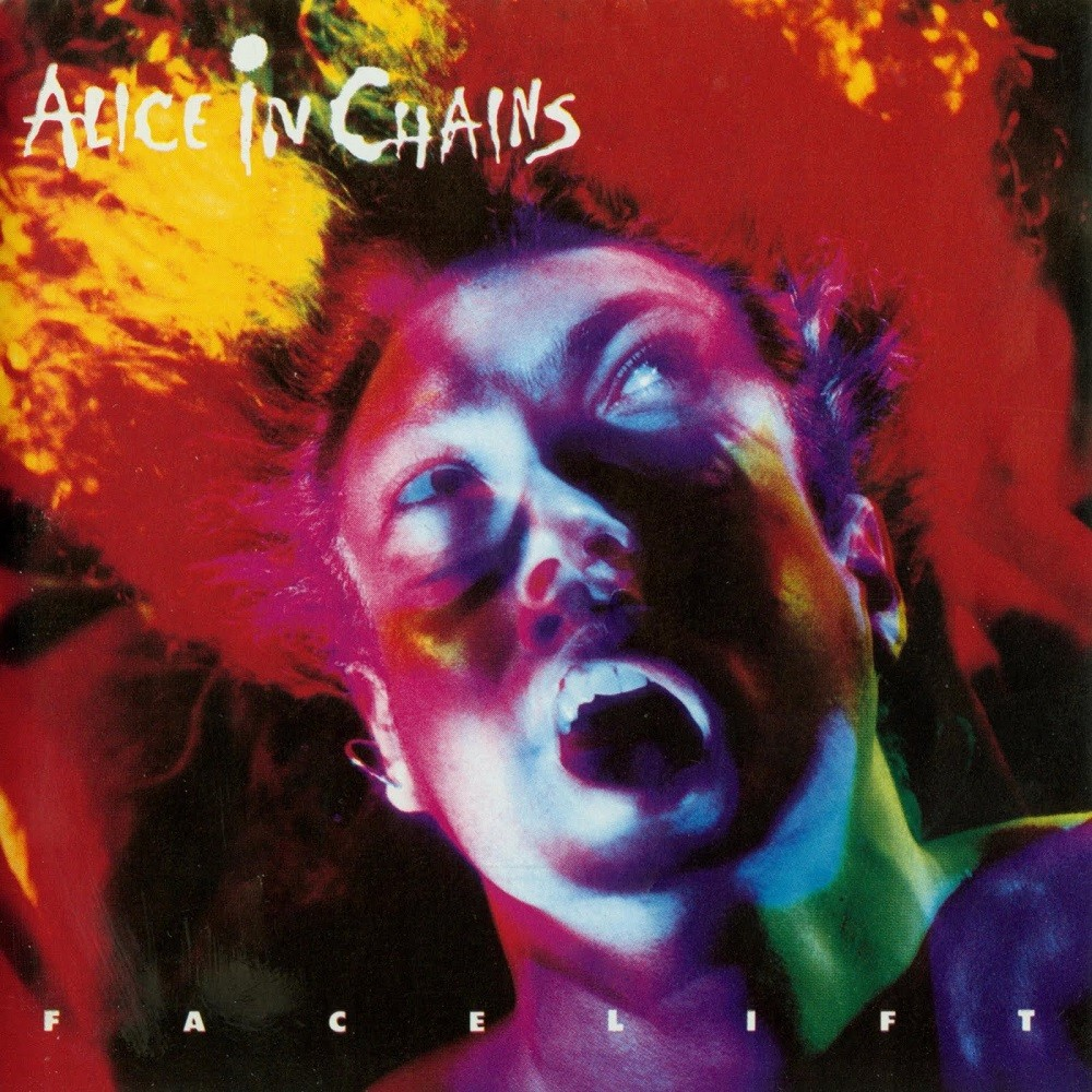 Alice in Chains - Facelift (1990) Cover
