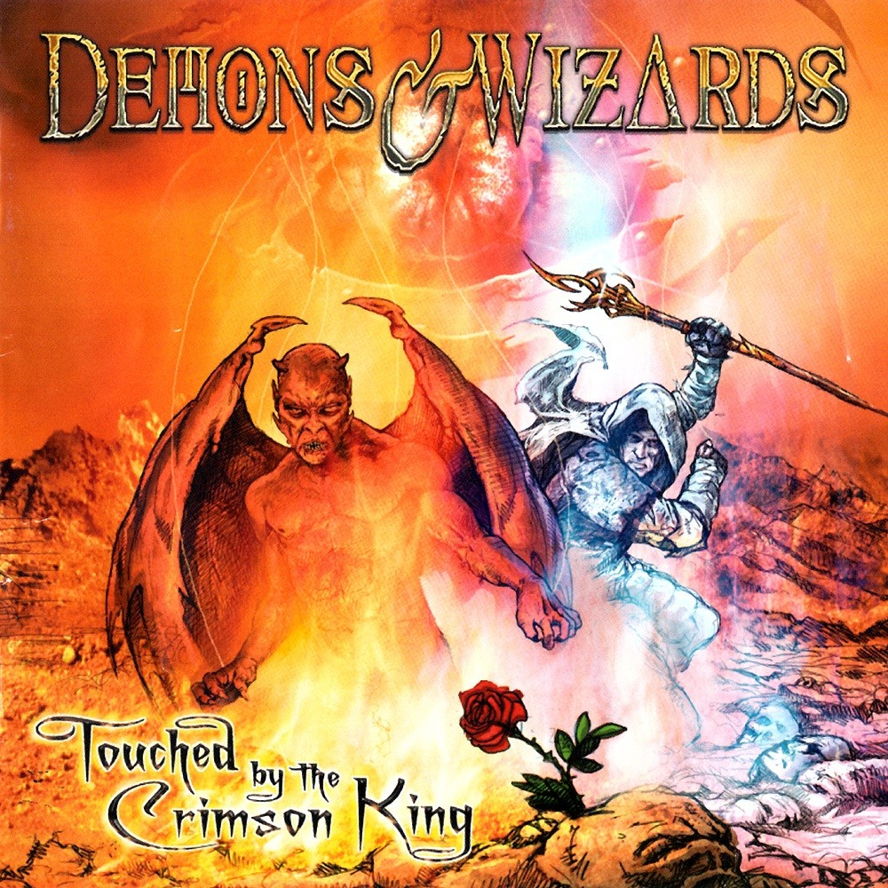 Demons & Wizards - Touched by the Crimson King (2005) Cover