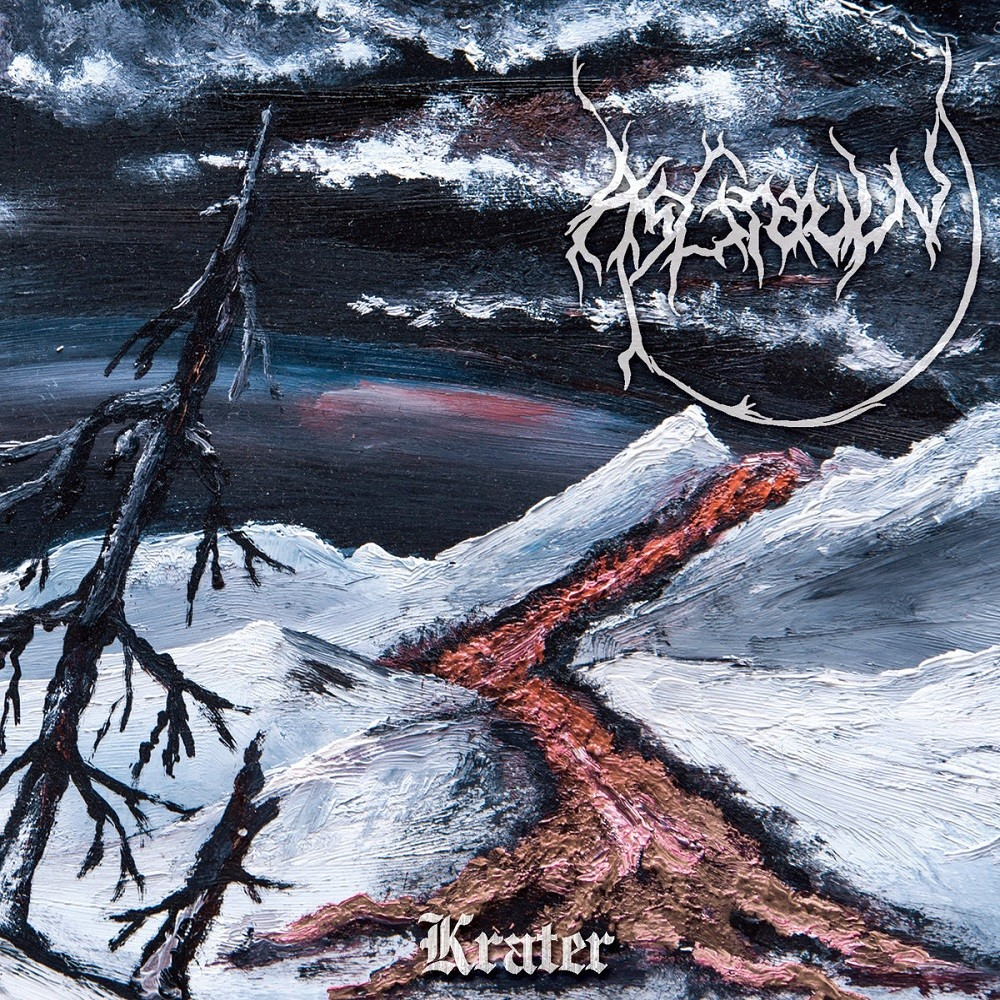 Asgrauw - Krater (2016) Cover