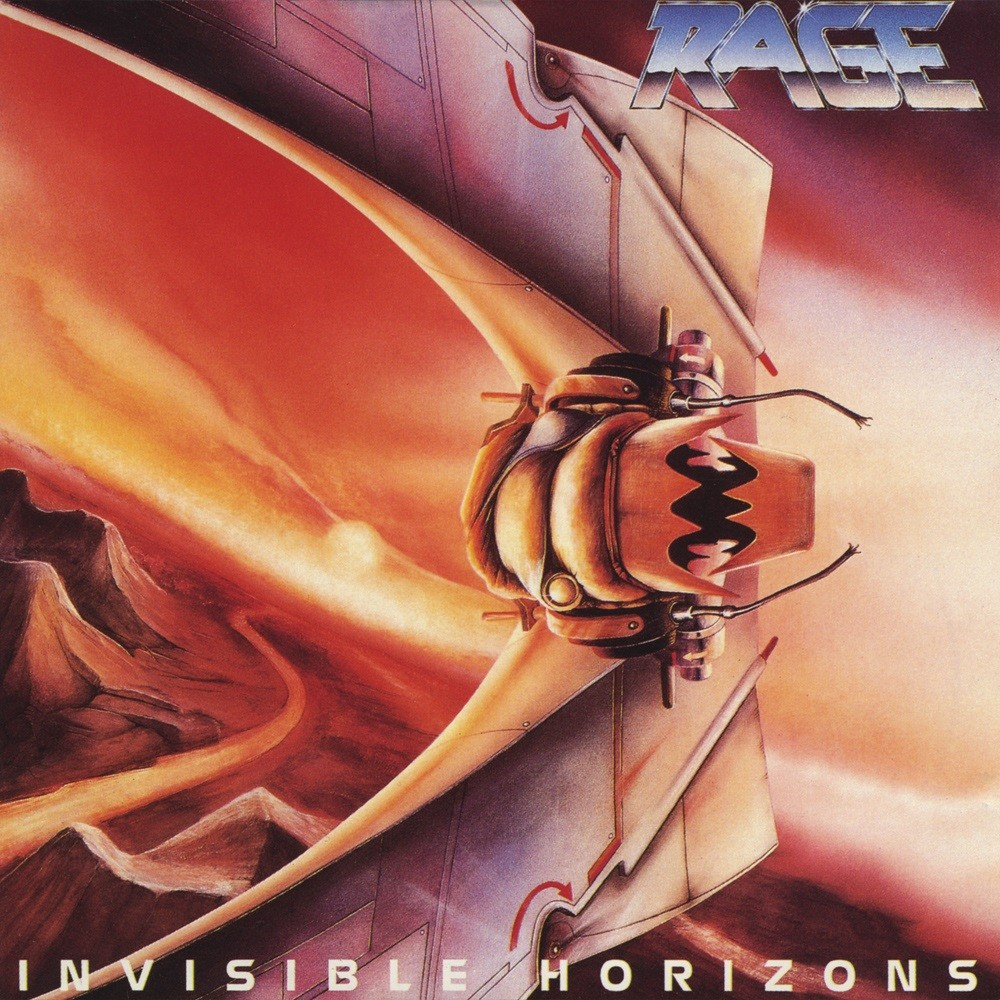 Rage - Invisible Horizons (1989) Cover