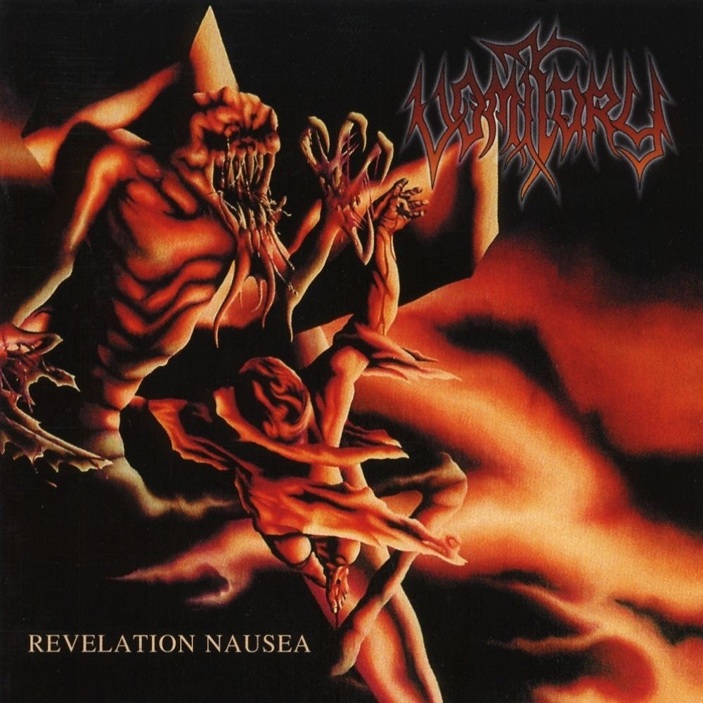 Vomitory - Revelation Nausea (2001) Cover