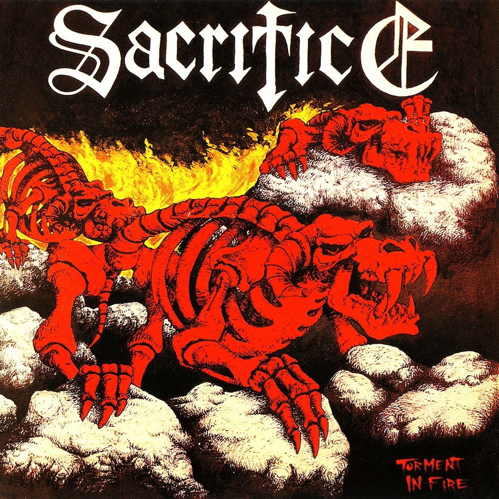 Sacrifice - Torment in Fire (1985) Cover