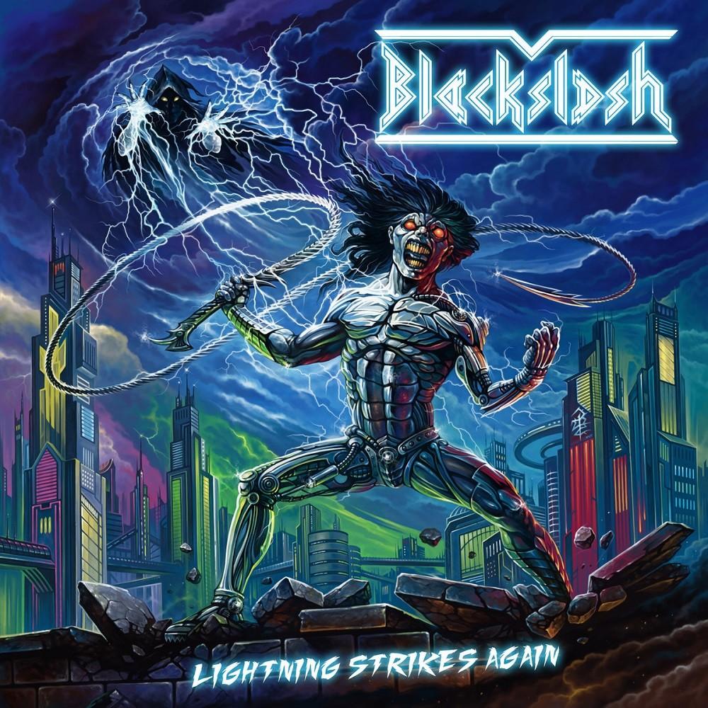 Blackslash - Lightning Strikes Again (2018) Cover