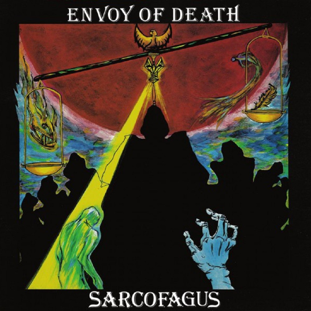 Sarcofagus - Envoy of Death (1980) Cover