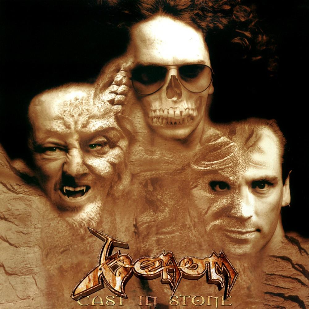 Venom - Cast in Stone (1997) Cover
