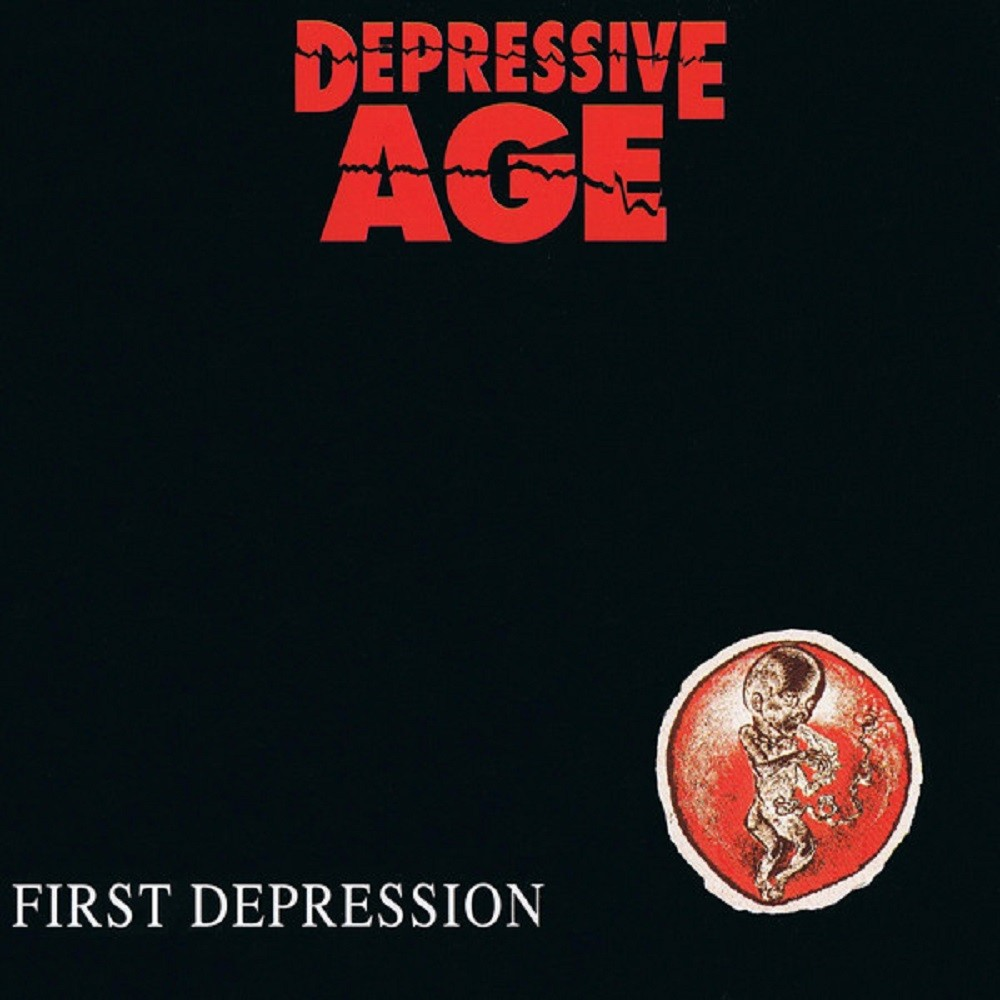 Depressive Age - First Depression (1992) Cover