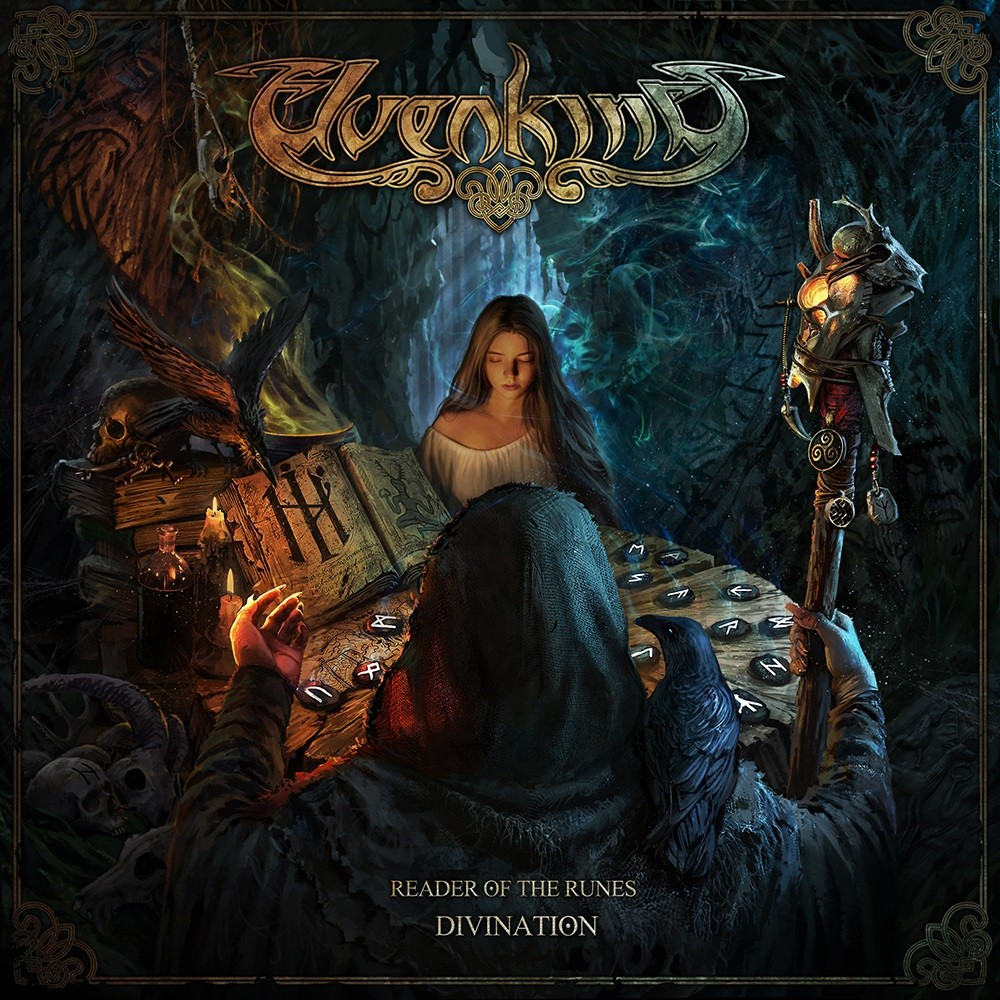 Elvenking - Reader of the Runes – Divination (2019) Cover
