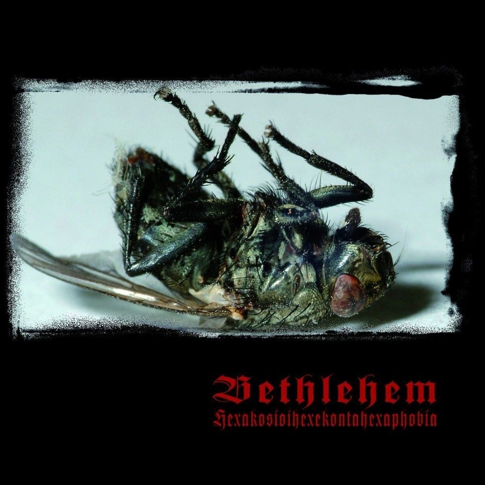 Bethlehem - Hexakosioihexekontahexaphobia (2014) Cover