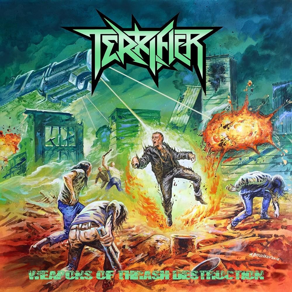 Terrifier - Weapons of Thrash Destruction (2017) Cover