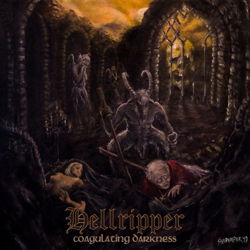 Hellripper - Coagulating Darkness 2017