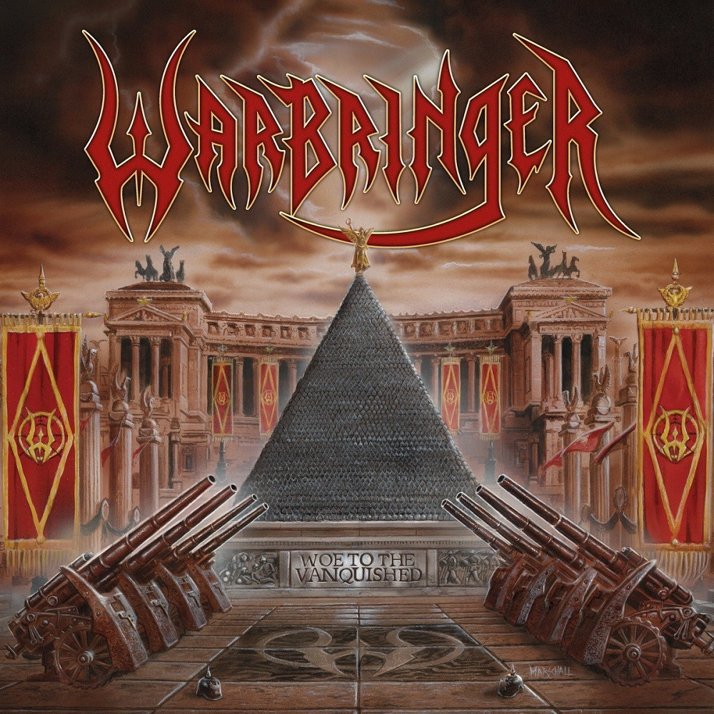 Warbringer - Woe to the Vanquished (2017) Cover