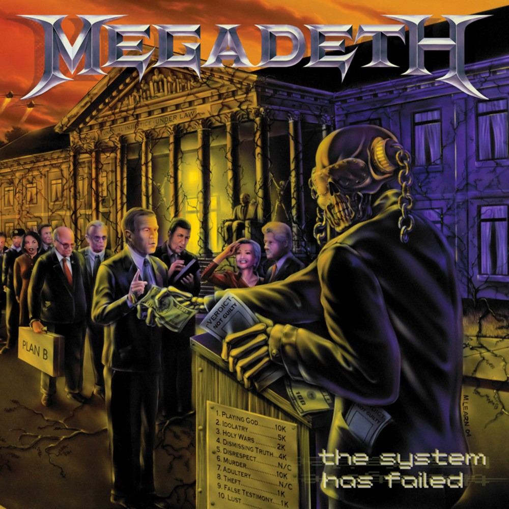 Megadeth - The System Has Failed (2004) Cover