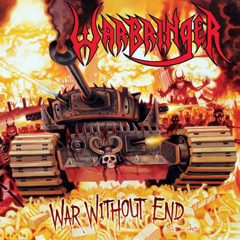 Warbringer - War Without End (2008) Cover
