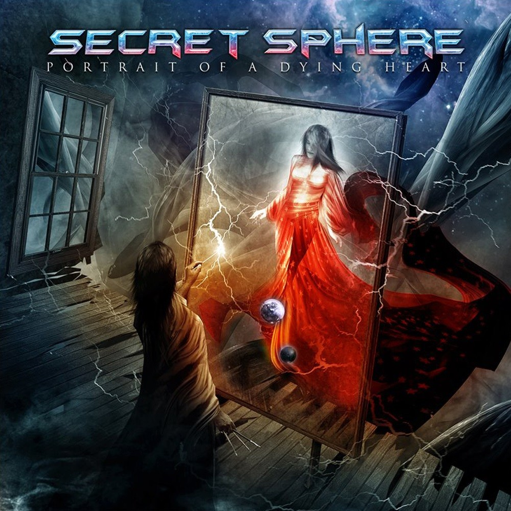 Secret Sphere - Portrait of a Dying Heart (2012) Cover