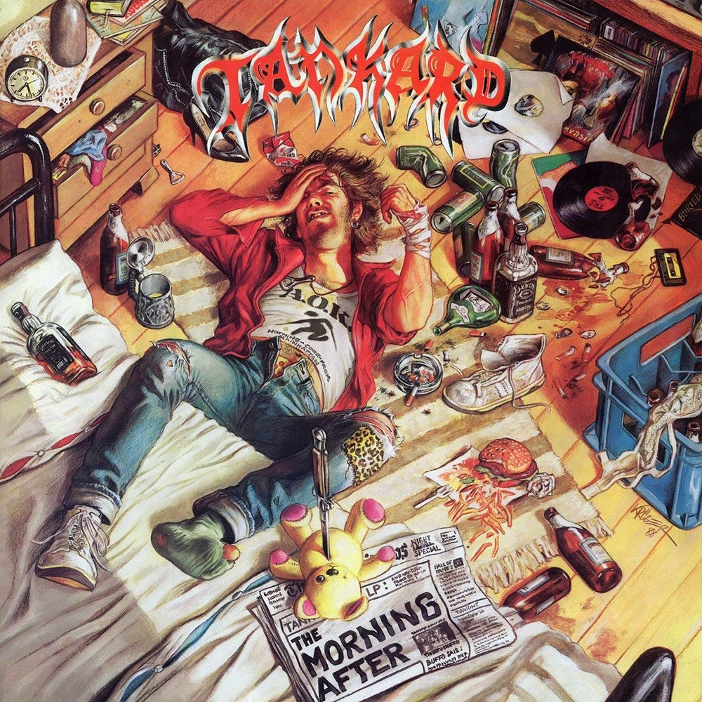 Tankard - The Morning After (1988) Cover