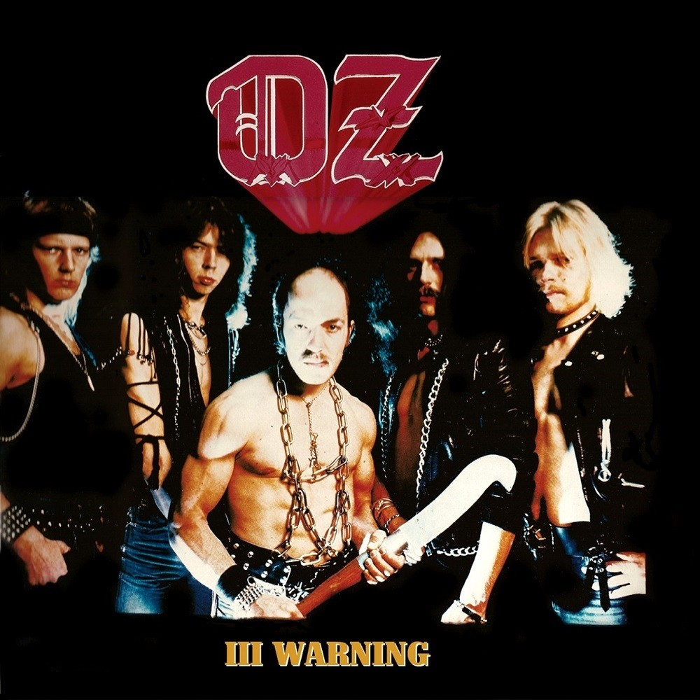 Oz - III Warning (1984) Cover