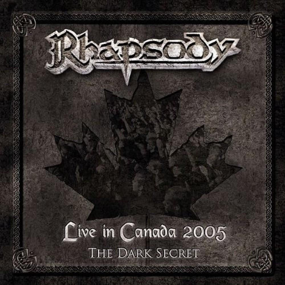Rhapsody - Live in Canada 2005 - The Dark Secret (2006) Cover