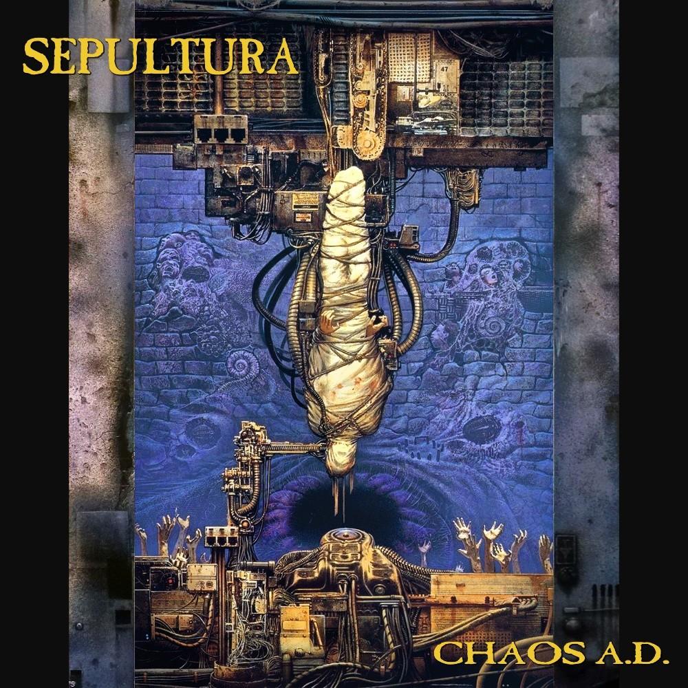 Sepultura - Chaos A.D. (1993) Cover