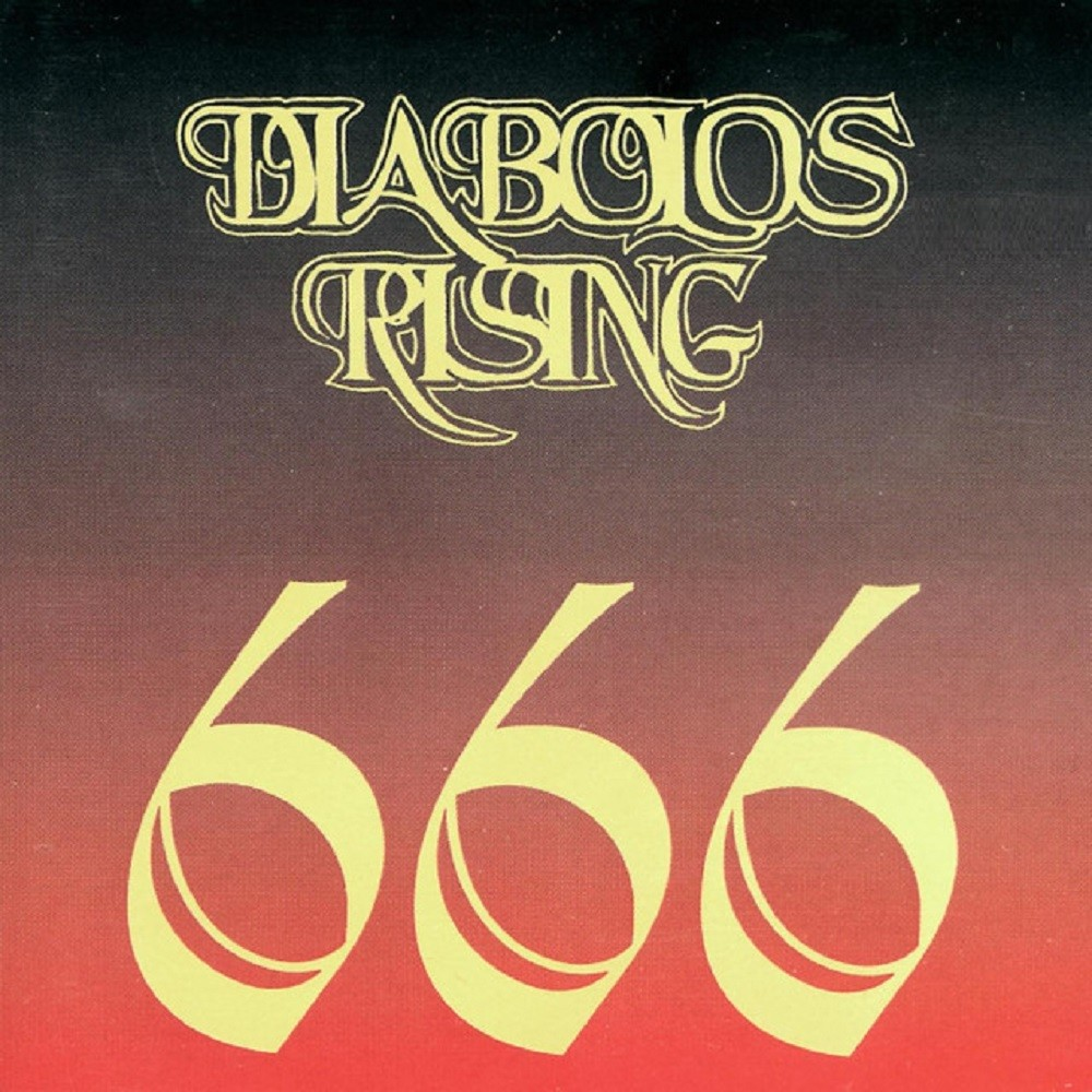 Diabolos Rising - 666 (1994) Cover