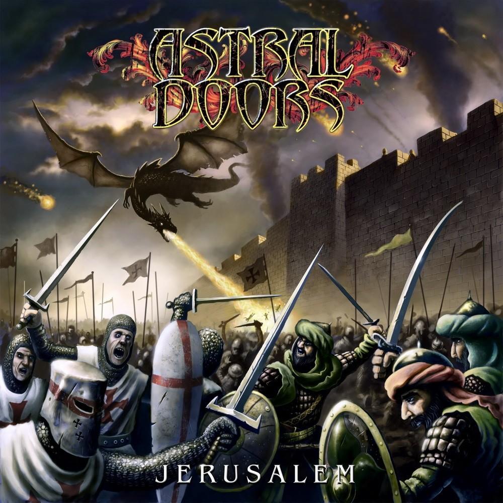 Astral Doors - Jerusalem (2011) Cover
