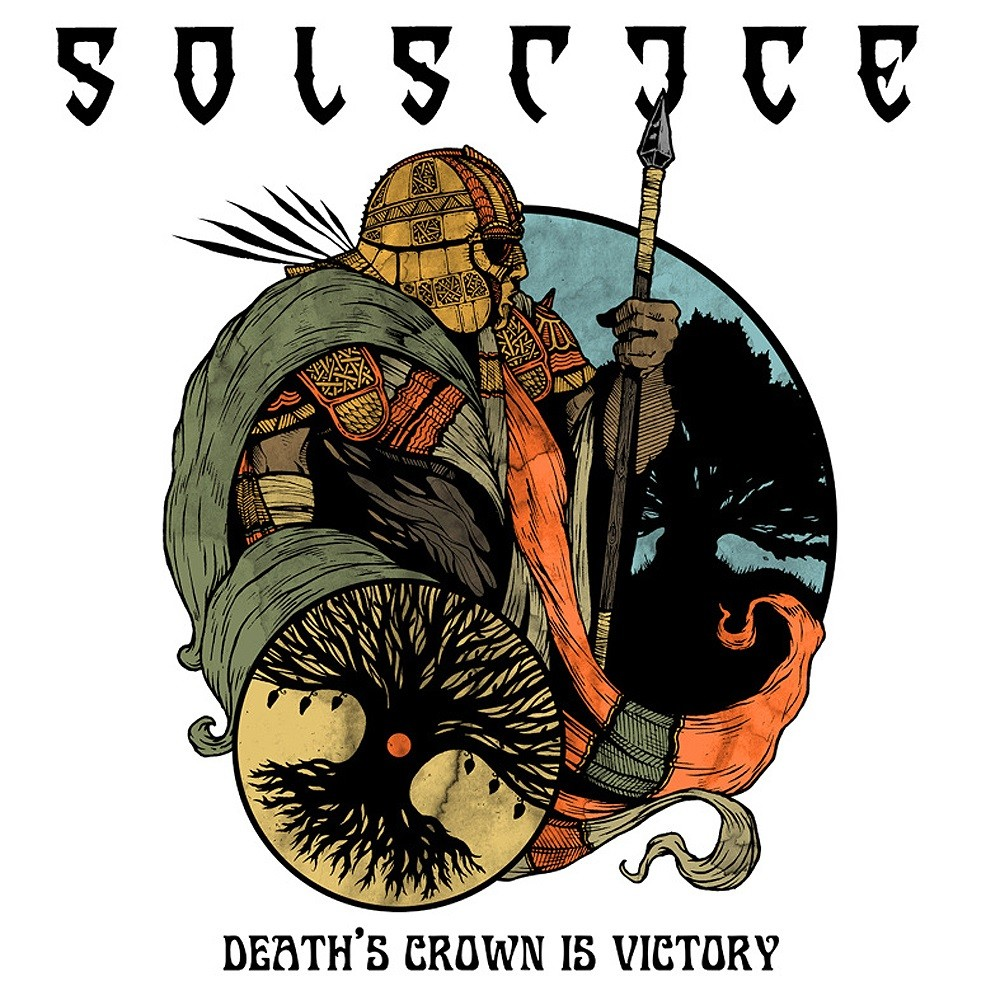 Solstice (GBR) - Death's Crown Is Victory (2013) Cover