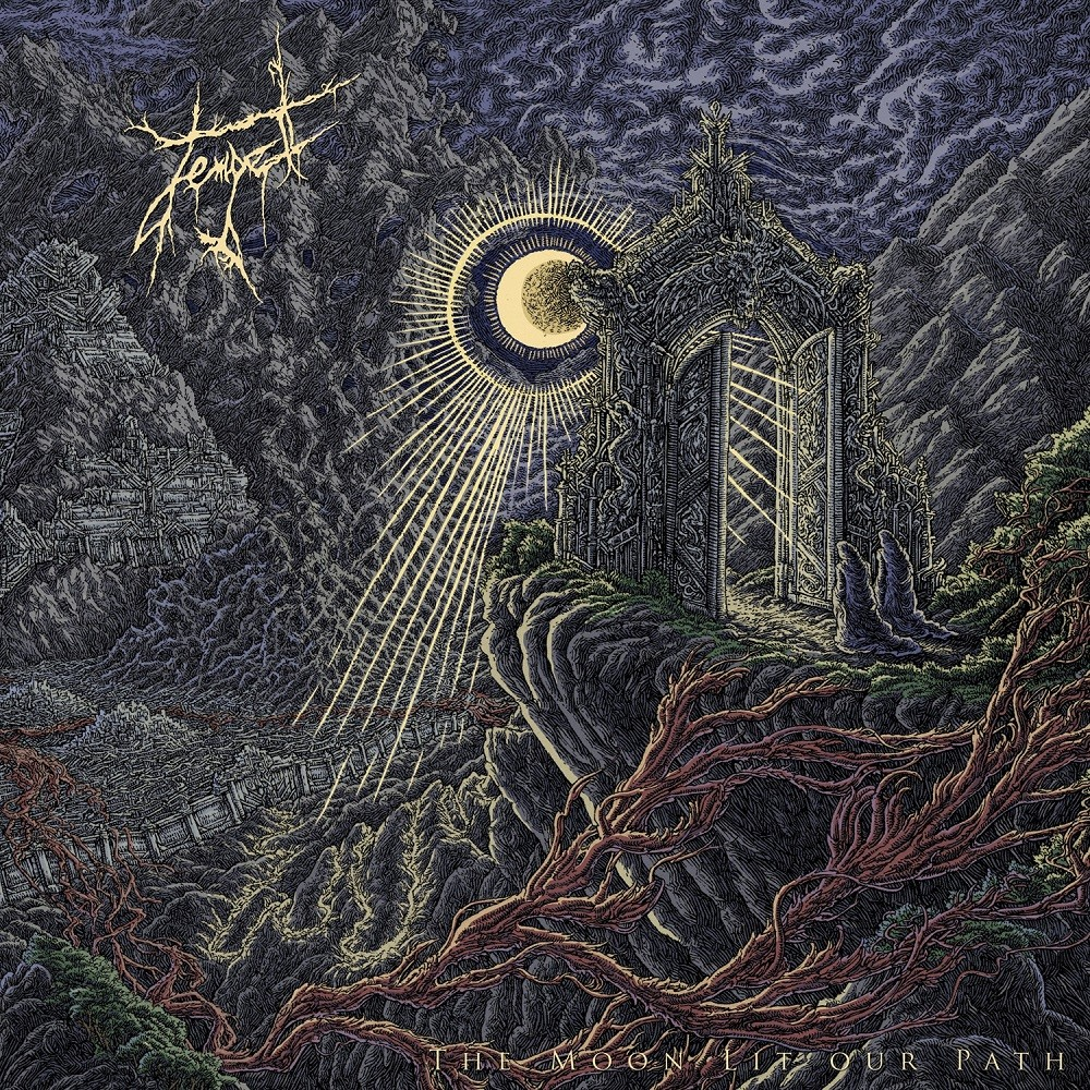 Tempel - The Moon Lit Our Path (2015) Cover