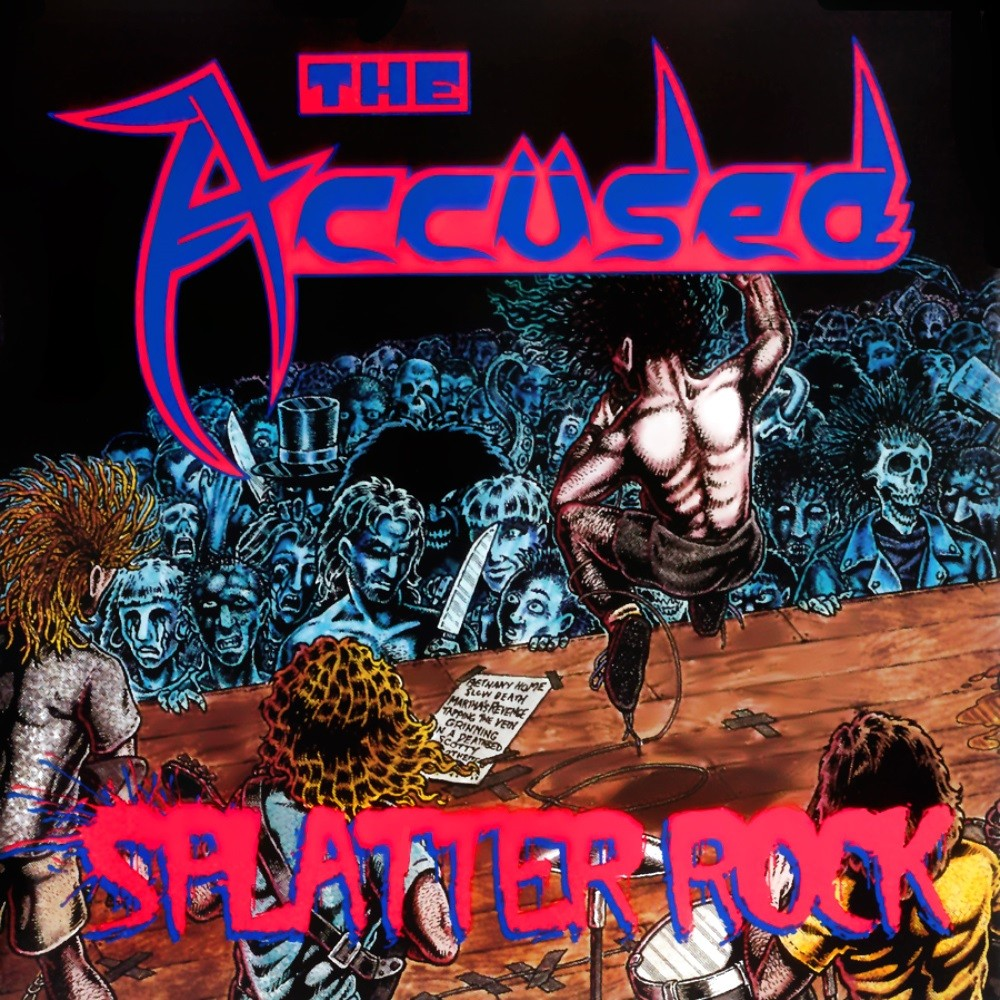 Accüsed, The - Splatter Rock (1992) Cover