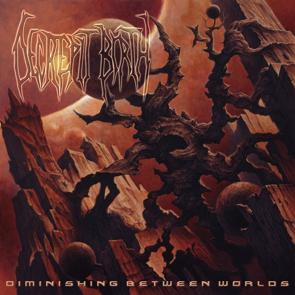 Decrepit Birth - Diminishing Between Worlds (2008) Cover