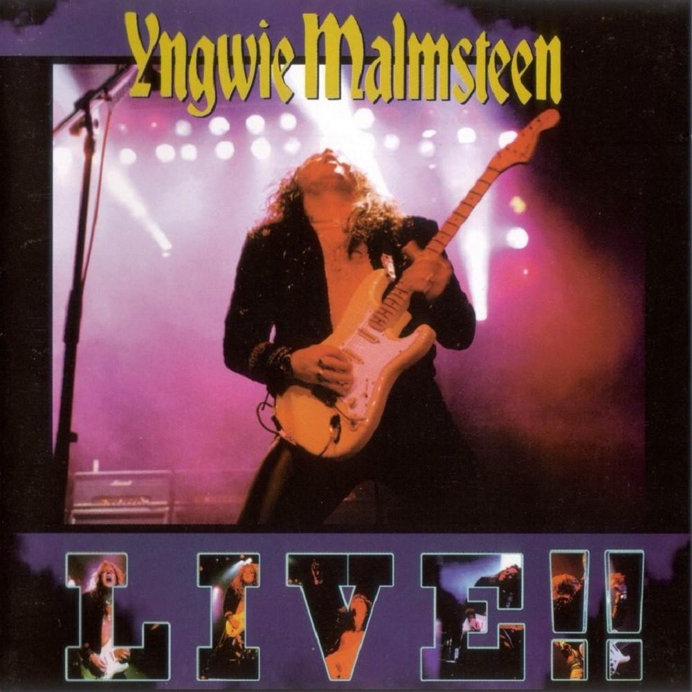 Yngwie J. Malmsteen - Live!! (1998) Cover