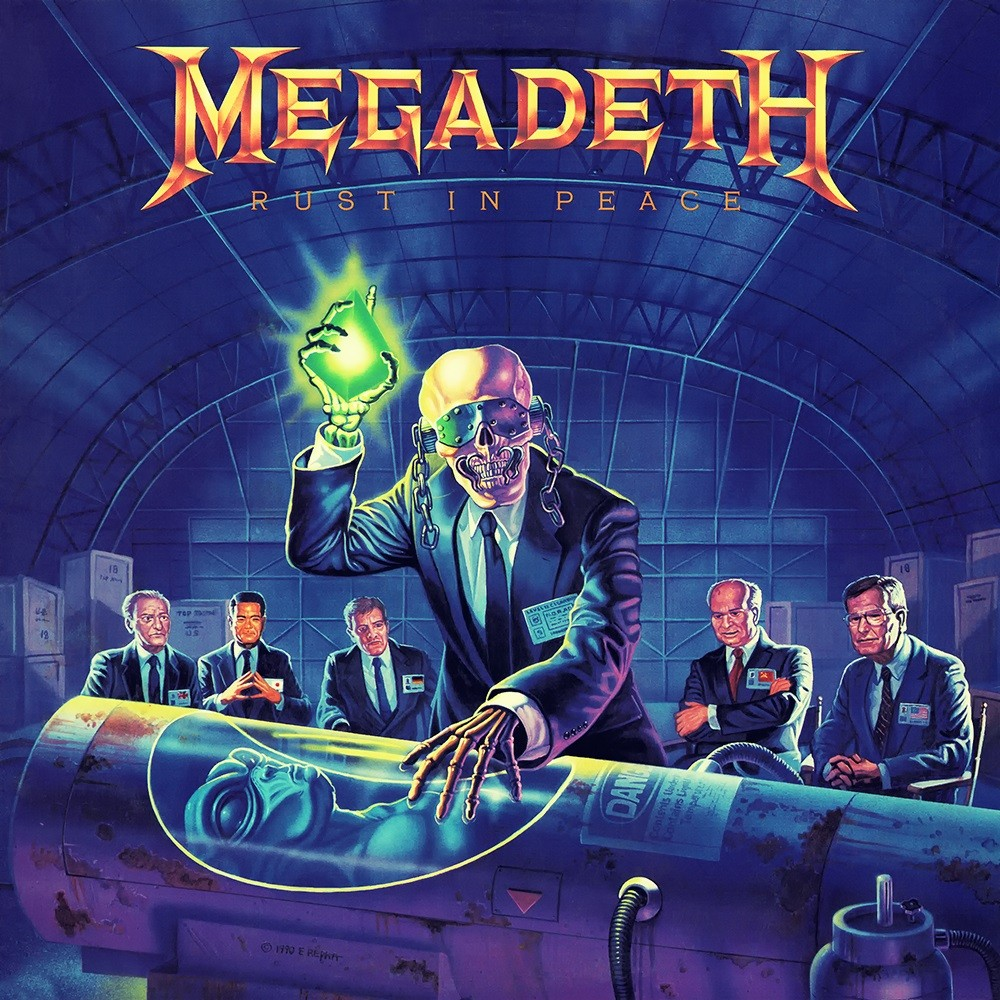 Megadeth - Rust in Peace (1990) Cover