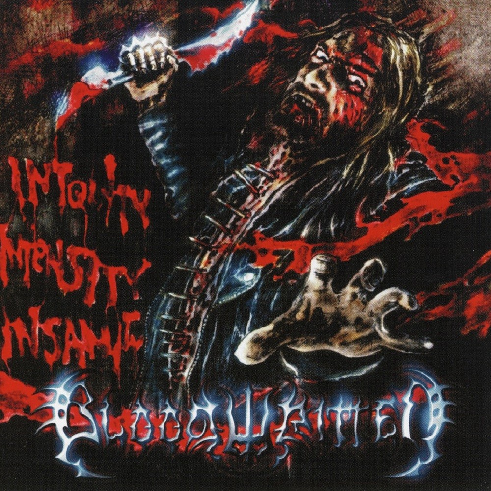 Bloodwritten - Iniquity Intensity Insanity (2008) Cover