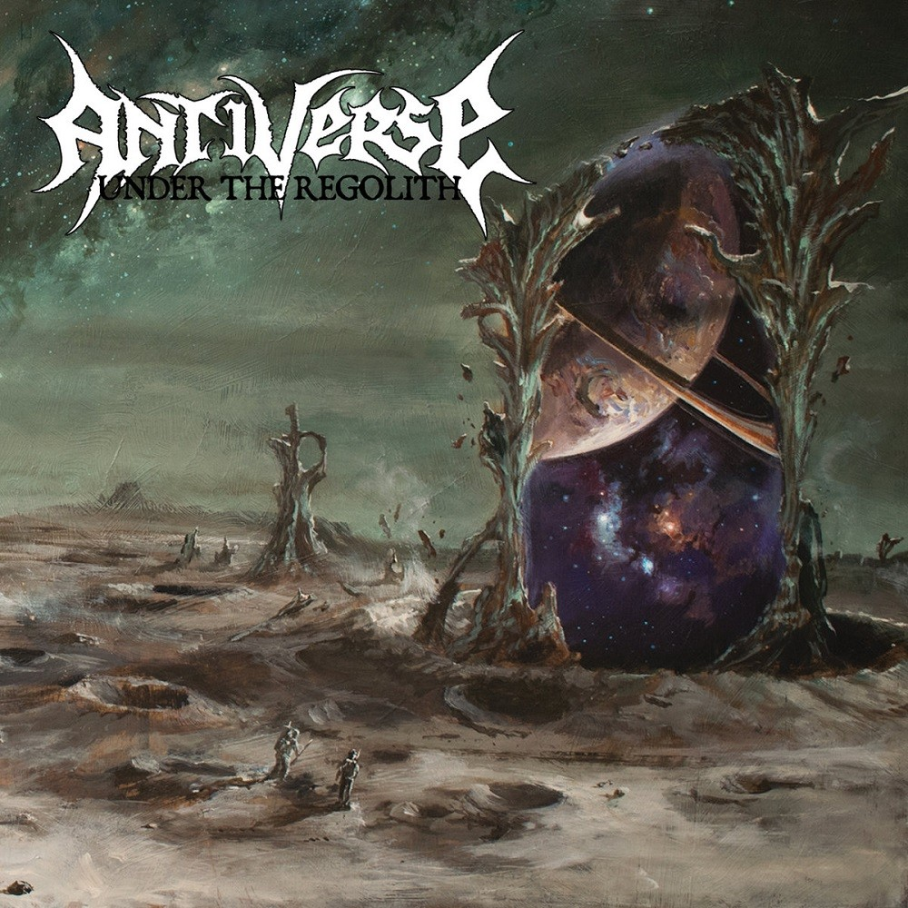 Antiverse - Under the Regolith (2018) Cover