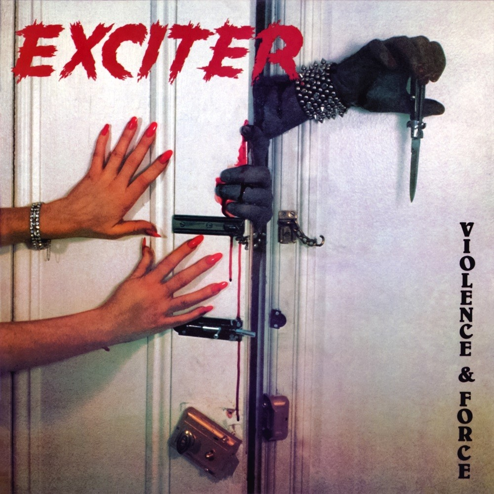 Exciter - Violence & Force (1984) Cover