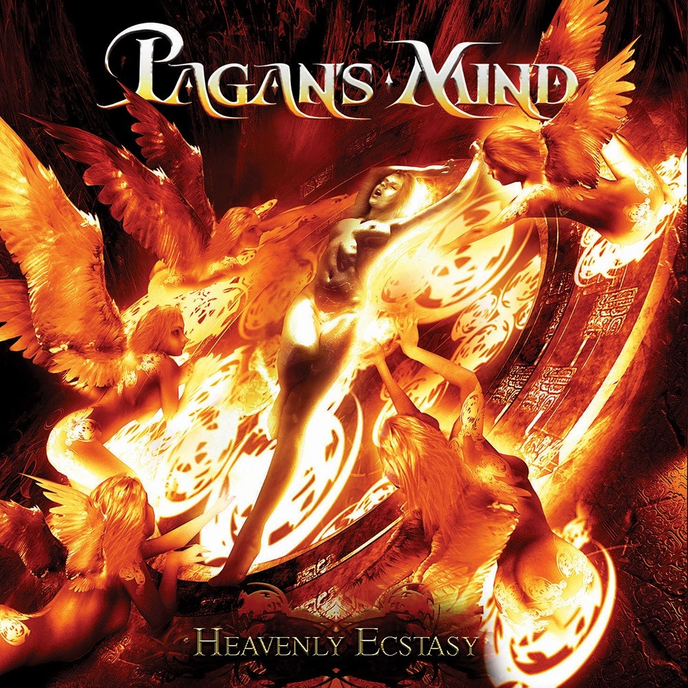 Pagan's Mind - Heavenly Ecstasy (2011) Cover
