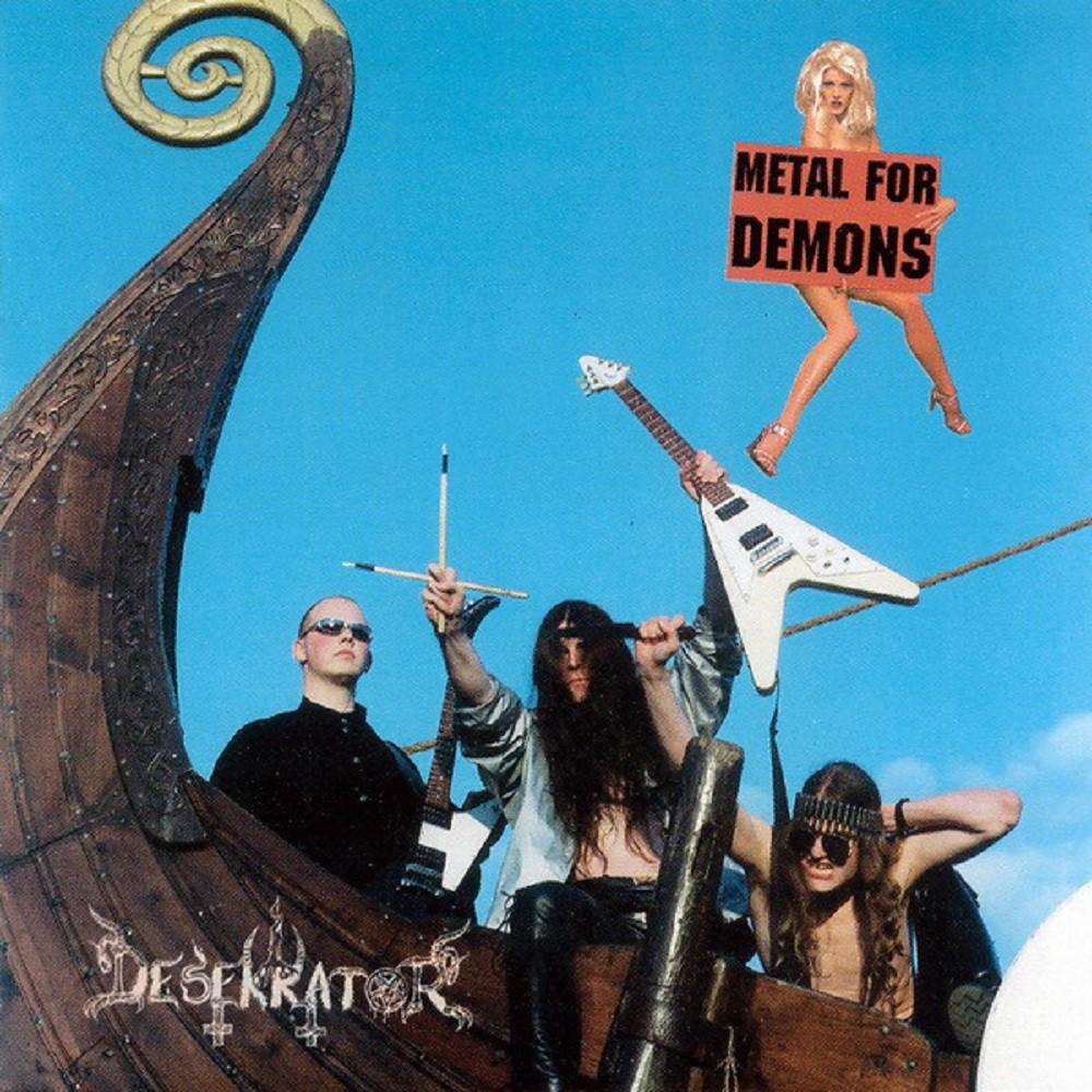 Desekrator - Metal for Demons (1998) Cover