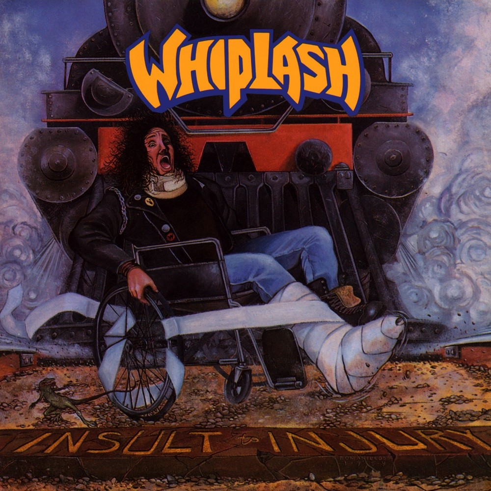 Whiplash - Insult to Injury (1989) Cover
