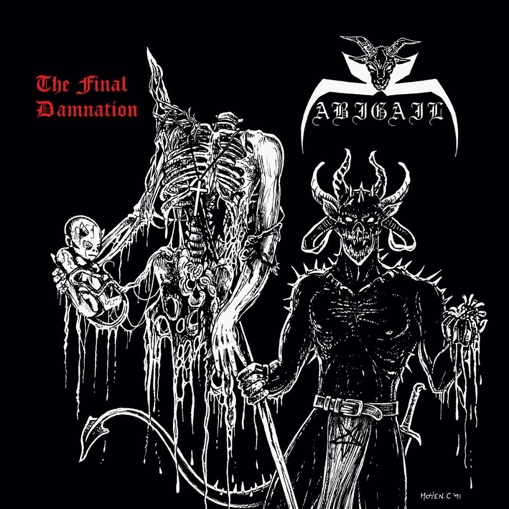 Abigail - The Final Damnation (2016) Cover