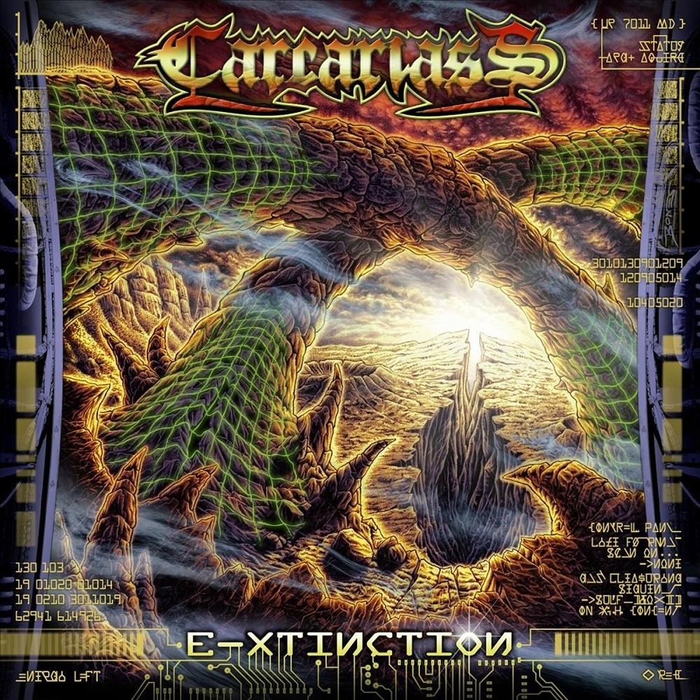 Carcariass - E-Xtinction (2009) Cover